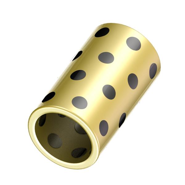 无油衬套 铜合金直柱标准型 内径G6外径m6  内径G6外径h6型
