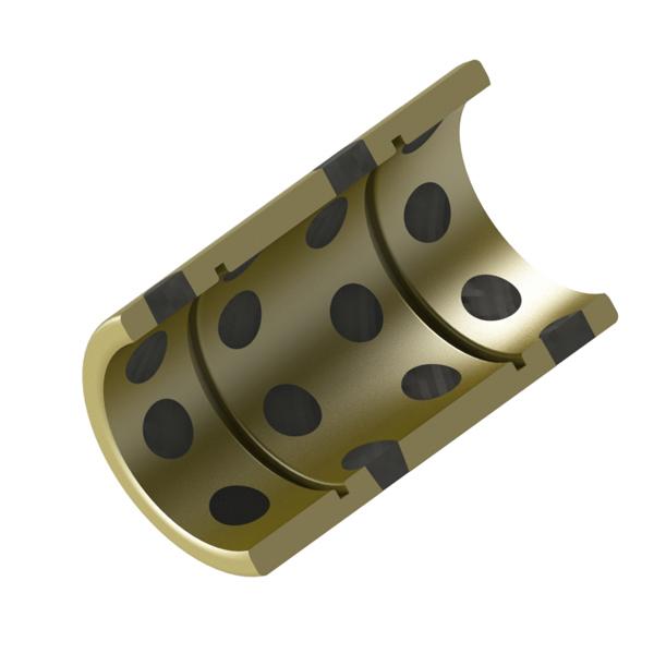 无油衬套 铜合金带油槽型