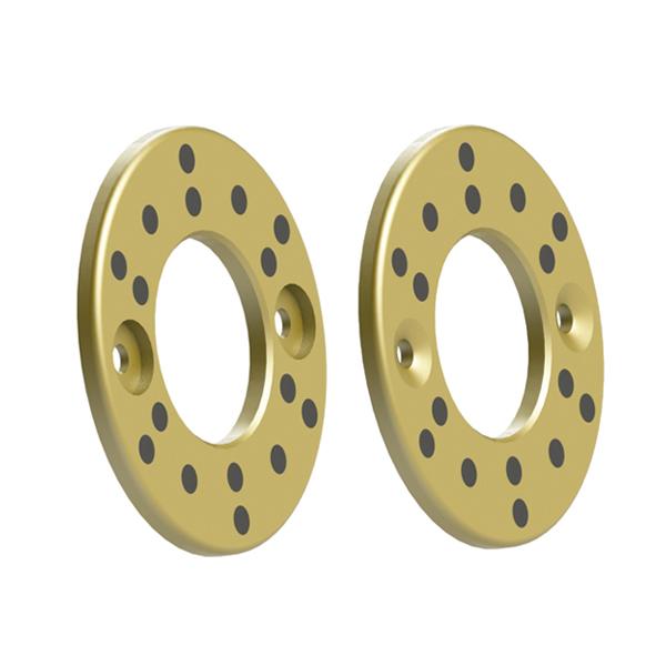 法兰一体型无油衬套 无油铜合金垫片 铜合金平头螺栓型 短头螺栓型