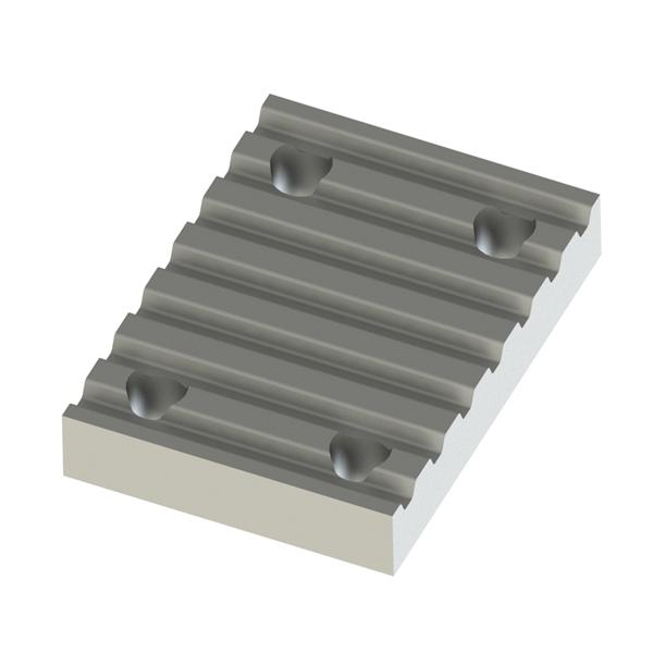 同步齿形带用金属件 下部金属件紧凑型