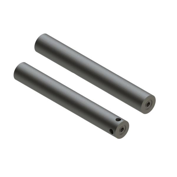 长管型滚轮 带止动螺丝 带轴承型