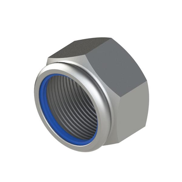 紧固件 非金属嵌件六角锁紧螺母 SNN2