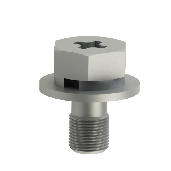 紧固件 十字槽盘头带平垫组合螺丝 SZG1
