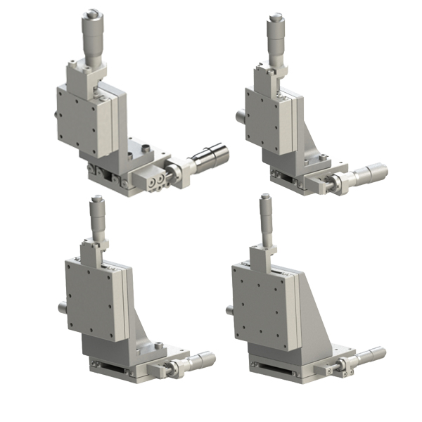 手动位移平台 线性滚珠型 XZ轴(垂直升降)