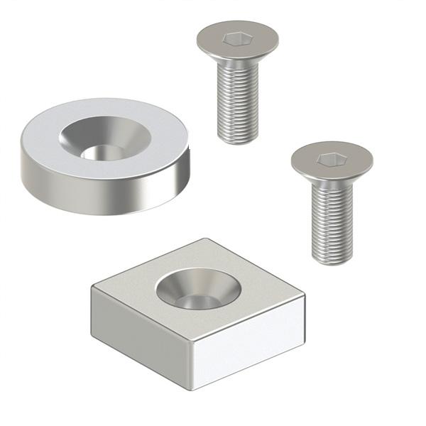 磁铁 平头螺栓止动型