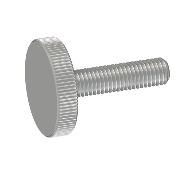 旋钮 金属旋钮 平头螺杆型