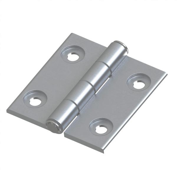 铝合金蝶形铰链 超短头螺栓型