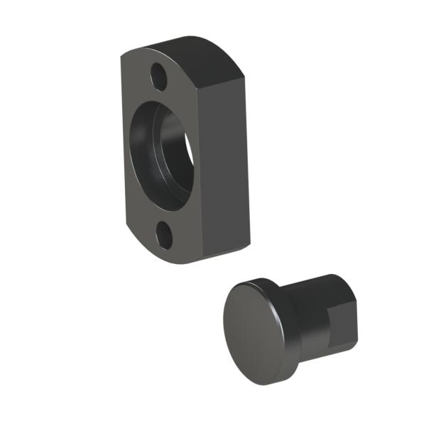 浮动接头 法兰安装型 内螺纹简易型