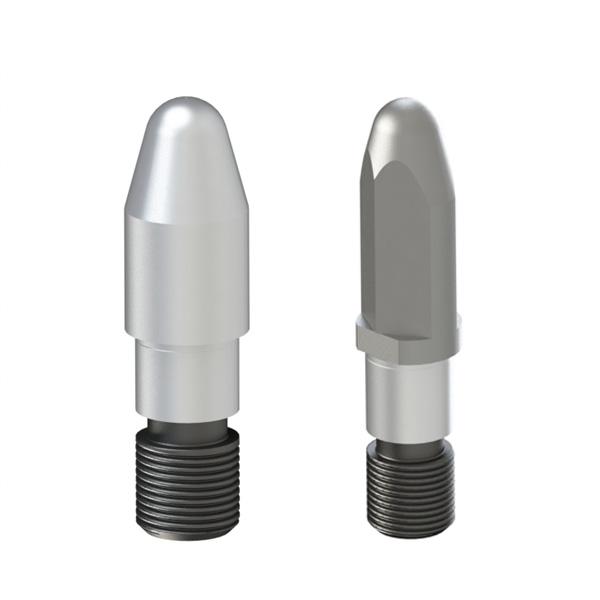 焊接夹具用定位销 锥头R型 无肩外螺纹型 普通级