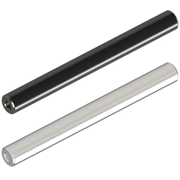 圆形支柱  两端内螺纹  带扳手槽型