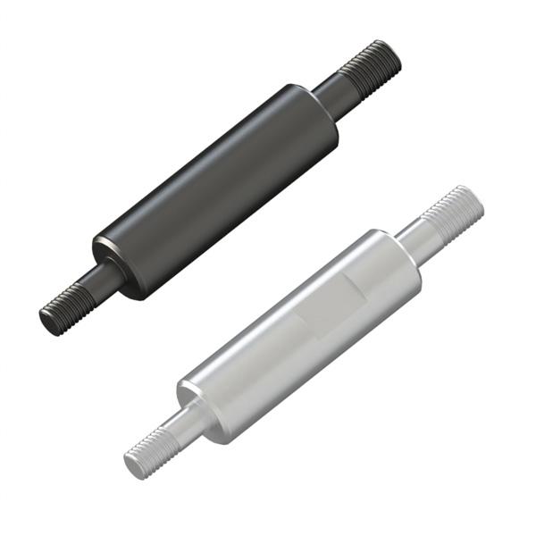 圆形支柱带台阶  台阶部固定型  台阶部&扳手槽指定型    两端外螺纹型