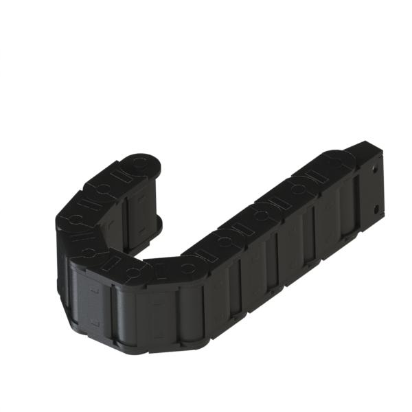 电缆保护链 经济型 25系列 全封闭两侧可打开中型链