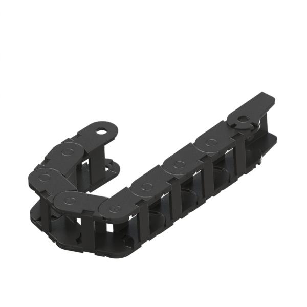 电缆保护链 经济型 25系列 桥式连体内侧打开中型链