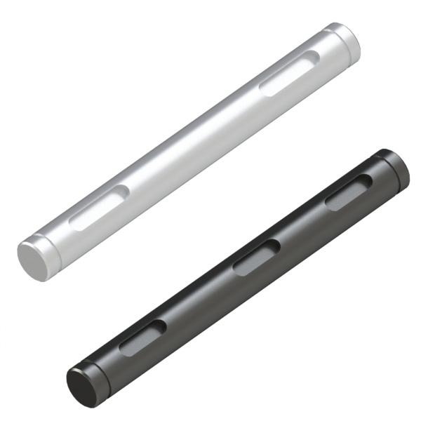 转轴 外径公差h7·g6(研磨材料) 带卡簧槽·带键槽型