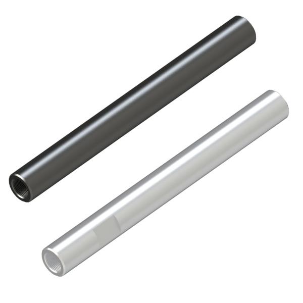 转轴 外径公差h7·g6(研磨材料) 两端内螺纹型