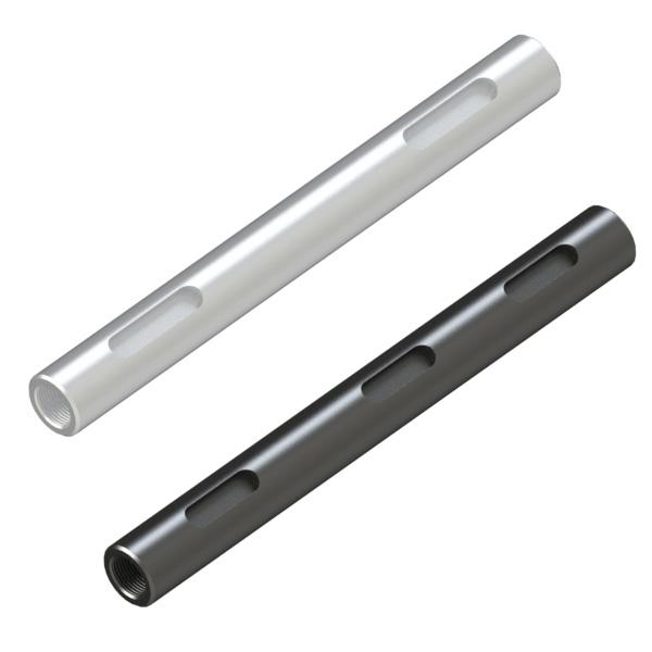转轴 外径公差h7·g6(研磨材料) 两端内螺纹·带键槽型