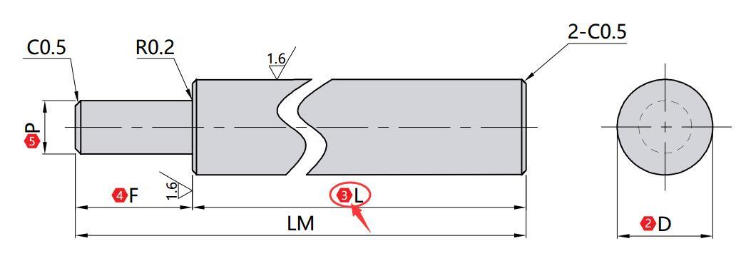 L(mm)