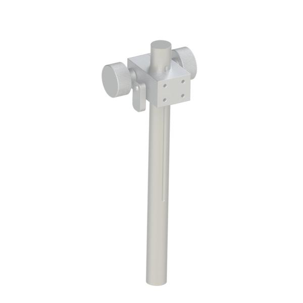 简易调整Z轴 齿轮齿条 带刻度支柱组件