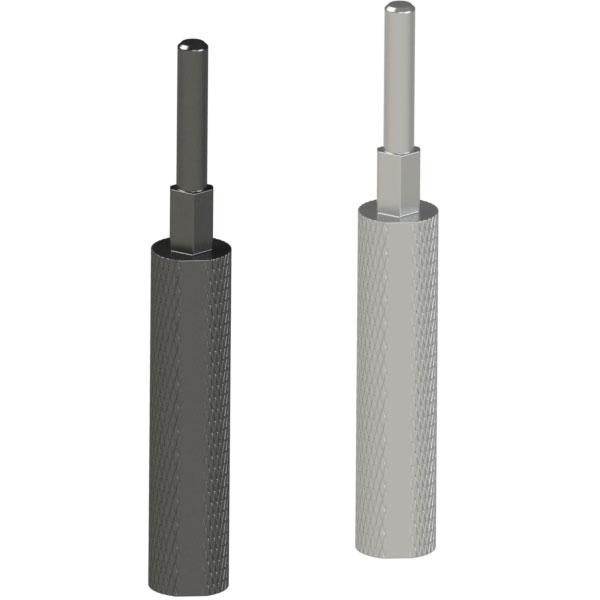 检查夹具用插入销 带台阶型多棱直杆型