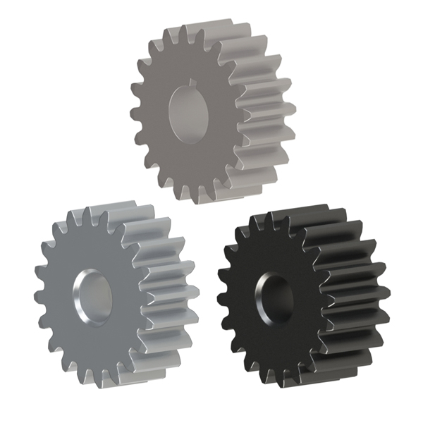 直齿轮压力角20°模数1.0薄型   A形状