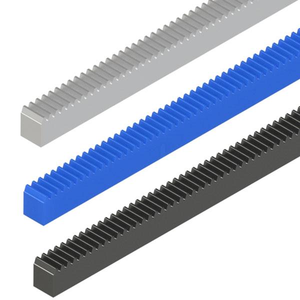 齿条L尺寸指定型(单端面加工品)  压力角20°模数0.5  0.8 1.0 1.5 2.0 2.5 3.0