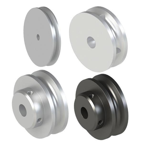 圆皮带用滑轮 螺丝固定型滑轮