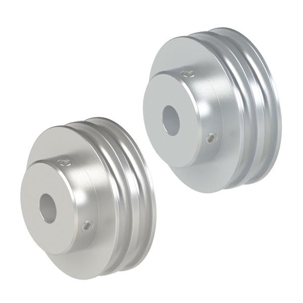 圆皮带用滑轮 双联型滑轮