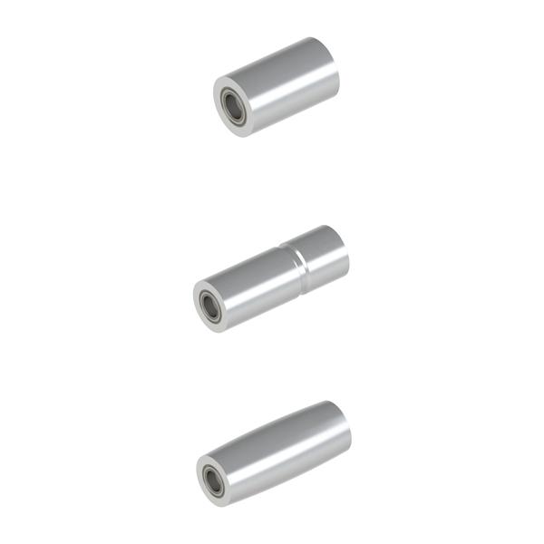 平皮带用惰轮 轴承压入式惰轮 宽度L=25~100