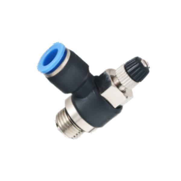 公制接管-直接安装L型节流阀-G