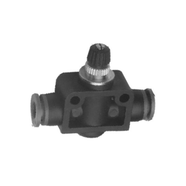 公制接管-管道型节流阀