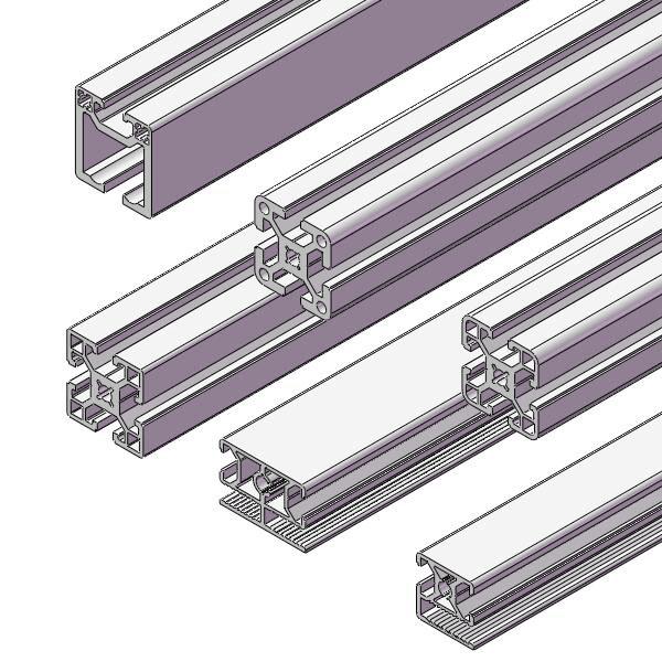 机械防护栏 30系列机械护栏型材