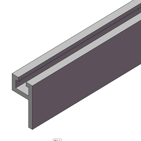 通用型材 光纤安装型材