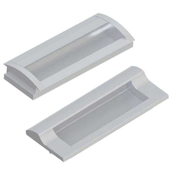 型材通用配件 铝制扣手1