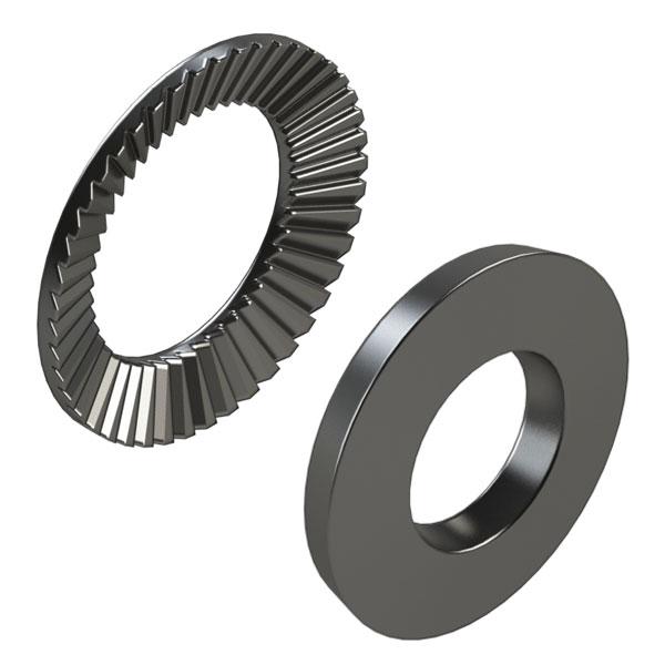 紧固件 垫圈 锥形弹簧垫圈 压纹锥形弹簧垫圈